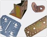 Staffe e piastre di fissaggio