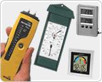 Igrometri per la misurazione dell'umidità e termometri ad infrarossi