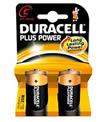 Blister 2 batterie alcaline mezza torcia Duracell Plus
