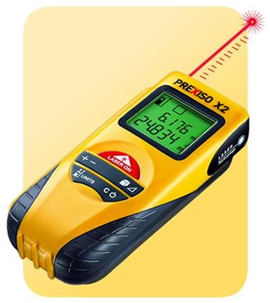 FerramentaOnline SHOP: Distanziometro - Misuratore laser PREXISO X2 30 metri