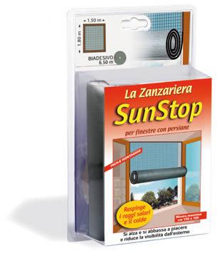 Ferramentaonline shop zanzariera nera per finestra sun stop - Zanzariera finestra prezzo ...