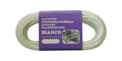 Ferramentaonline shop cavetto rivestito bianco per for Fili per stendere