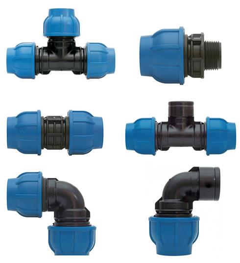 Raccordo manicotto in polipropilene UNIDELTA per tubi irrigazione