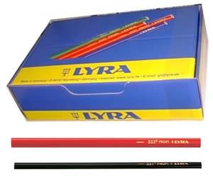 lunghezza 240 mm Matita da carpentiere LYRA 4332113 433