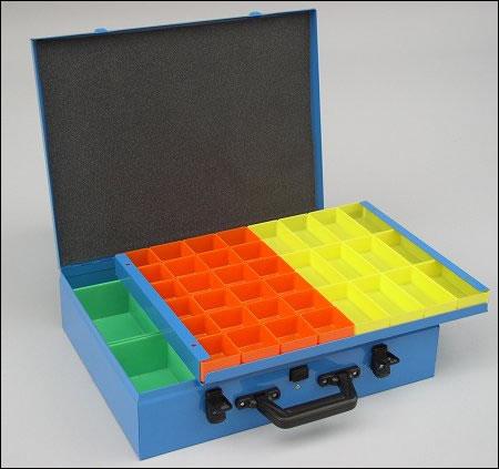 ferramentaonline shop: porta minuteria serie syncro con 59 vaschette