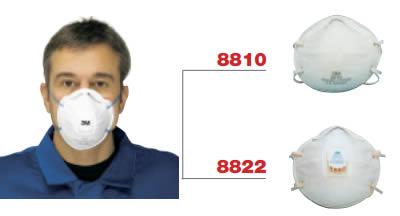 maschera polveri 3m