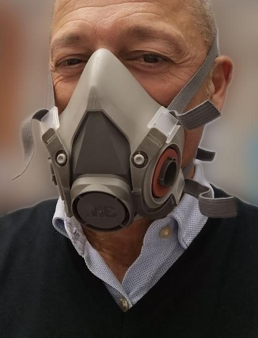 3m maschera semifacciale