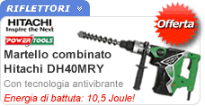 Martello combinato Hitachi DH40MRY