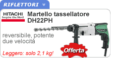 Martello tassellatore DH22PH Hitachi