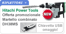 Offerta martello perforatore combinato Hitachi