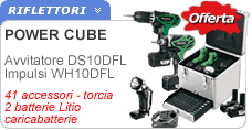 Elettroutensili Hitachi Power Cube