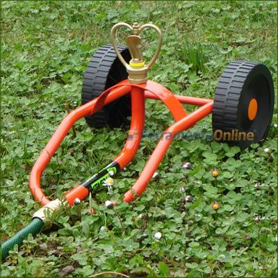Irrigatori semoventi da giardino mulino elettrico per for Irrigatori automatici per giardino
