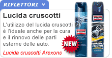 Lucida cruscotti Arexons spray