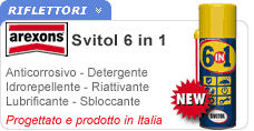 Spray multifunzione Svitol 6in1