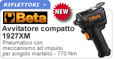 Avvitatore reversibile compatto Beta 1927XM