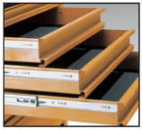 Dettaglio cassettiera Beta CX24 a 4 cassetti