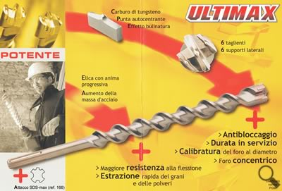 Punta SDS max ULTIMAX