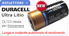 Duracell 123 per fotocamere