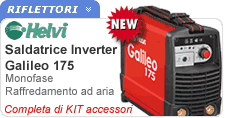 Saldatrice inverter in valigetta e kit accessori