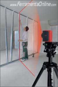 Laser per tracciare linee