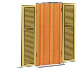 Ferramentaonline shop tenda zanzariera per porte 1 5x2 5mt - Tende finestre pvc ...