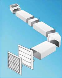 ferramentaonline shop: curva verticale in abs per impianto aerazione - Tubi Per Cappa Cucina