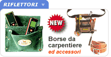 Borse da carpentiere ed accessori