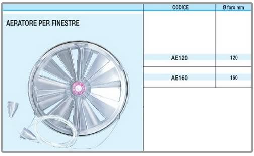 Ferramentaonline shop aspiratore per finestre aeratori - Aeratore termico per finestra ...