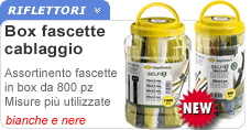 Box 800 fascette stringitubo assortit