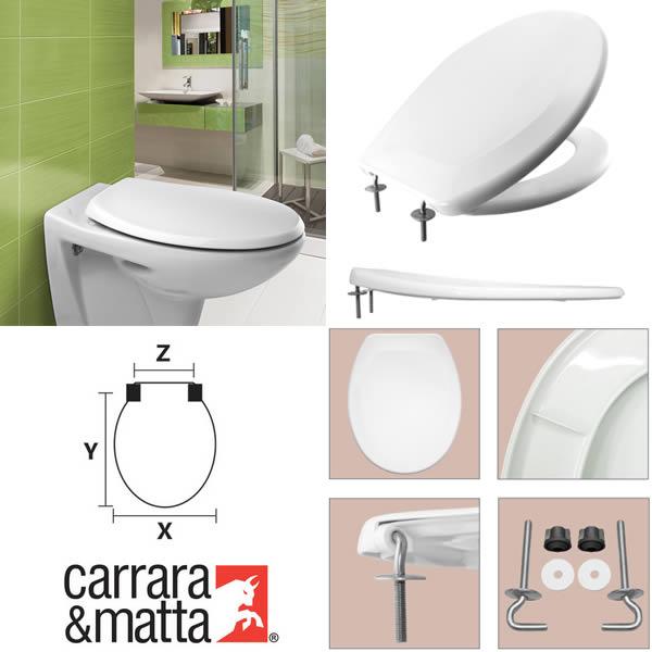 Sedile Wc Carrara E Matta.Ferramentaonline Shop Sedile Wc S12 Spa Bianco Carrara Matta