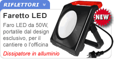 Faretto portatile 50W LED
