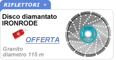 Disco diamantato granito Ironrode