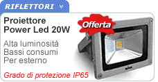 Faretto al LED Power 20W