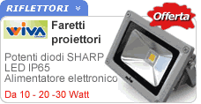 Proiettori Led IP65